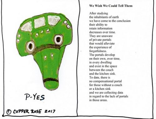 Cartoon Poem by Copper Rose