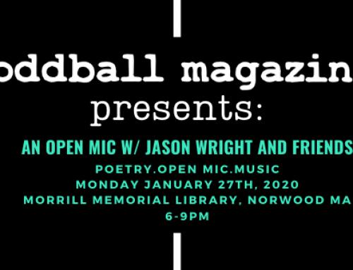 Oddball Magazine Presents This Monday!