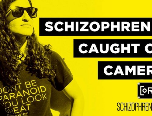 Schizophrenia Caught on Camera: Security