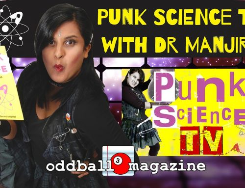 Punk Science TV: Black Holes produce jets at the speed of light