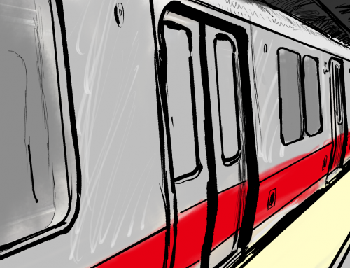 A Look at Train of Thought 2: More Poems  From The Red Line